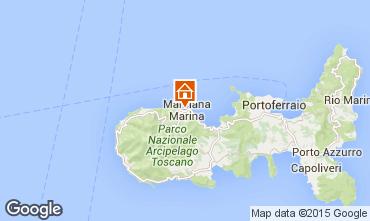 Map Marciana Marina Apartment 70063