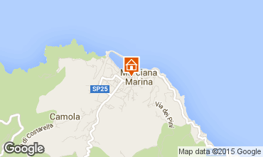 Map Marciana Marina Apartment 70063