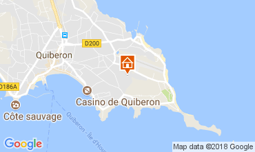 Map Quiberon One-room apartment 84047