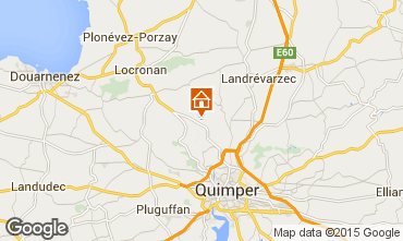 Map Quimper House 96123