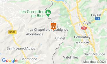 Map Châtel Chalet 600