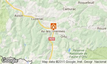 Map Ax Les Thermes Apartment 58968