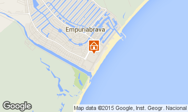 Map Empuriabrava House 68861