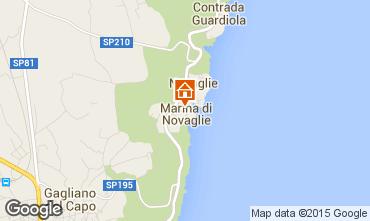 Map Marina di Novaglie One-room apartment 74731