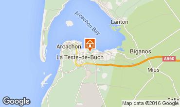 Map Arcachon House 103042