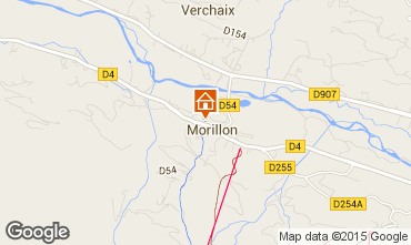 Map Morillon Grand Massif Apartment 1885