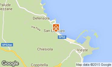 Map Vieste Apartment 34129