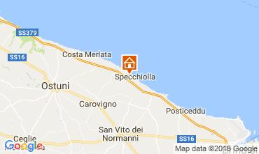 Map Lido Specchiolla Villa 114274