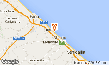 Map Fano Apartment 82631