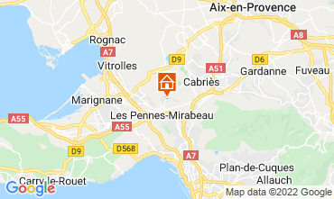 Map Aix en Provence House 87754