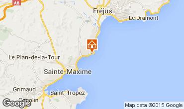 Map Les Issambres Villa 15629