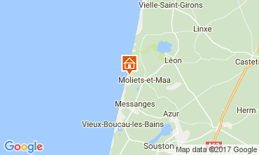 Map Moliets House 110649