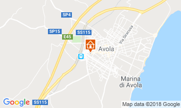 Map Avola Apartment 57459