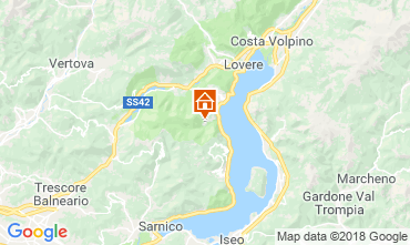 Map Riva di Solto Apartment 113416