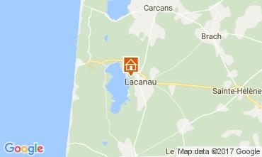Map Lacanau House 108013