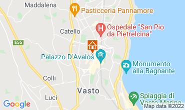 Map Vasto Apartment 46879