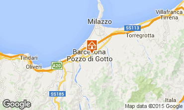 Map Milazzo One-room apartment 51568