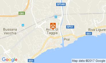 Map Taggia Apartment 81321