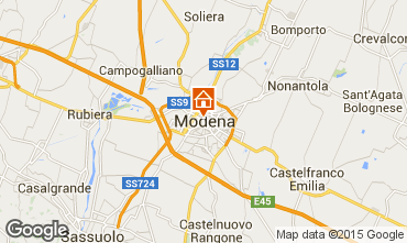 Map Modena Apartment 64213