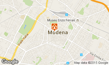 Map Modena Apartment 64213