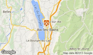 Map Aix Les Bains Apartment 80483