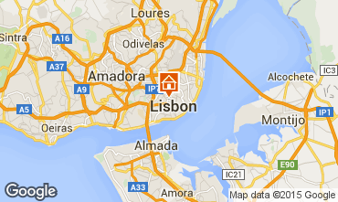 Map Lisbon Apartment 91900