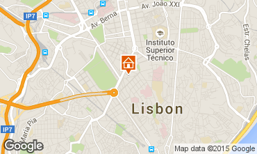 Map Lisbon Apartment 91900