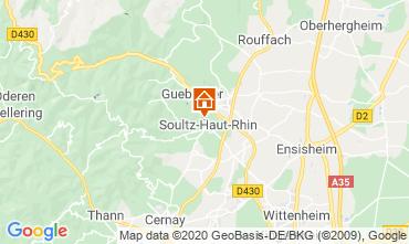 Map Markstein Vacation rental 96647