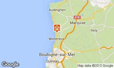 Map Wimereux House 20201