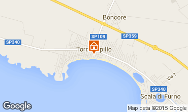 Map Torre Lapillo Apartment 99283
