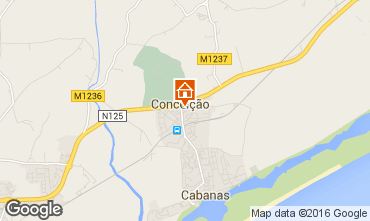 Map Cabanas de Tavira Apartment 102900