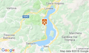 Map Sarnico Apartment 116784