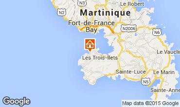 Map Trois Ilets Apartment 95676