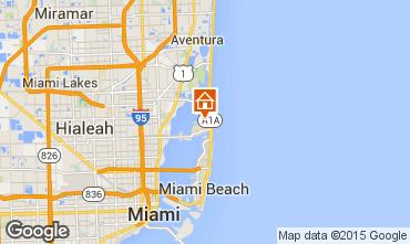 Map Miami Beach Villa 95793