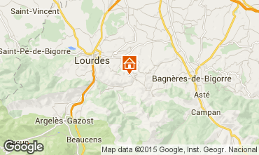 Map Lourdes House 93988