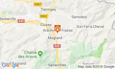 Map Les Carroz d'Araches Apartment 80329