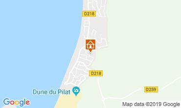 Map Pyla sur Mer Villa 113660
