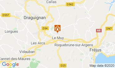 Map Sainte Maxime Villa 116281