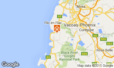 Map Flic-en-Flac Bed and breakfast 61030