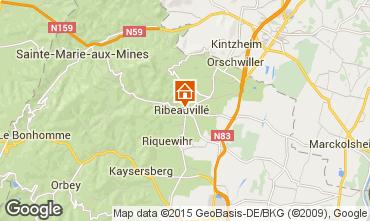 Map Ribeauvillé Apartment 79825