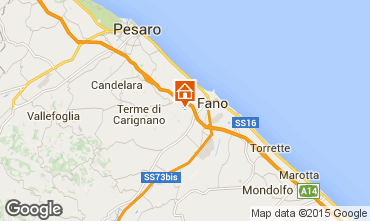 Map Fano Apartment 84518