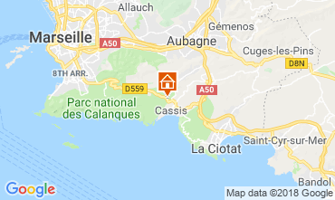 Map Cassis House 116763