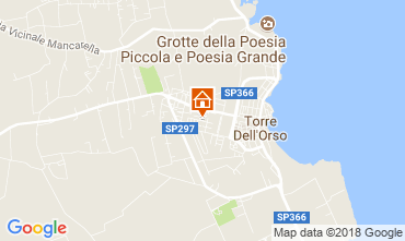 Map Torre dell'Orso House 114731