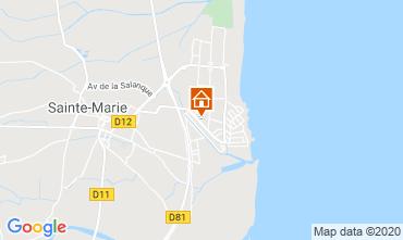 Map Sainte Marie la Mer House 119775