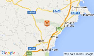 Map Syracuse Villa 85519