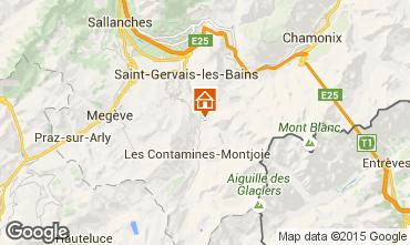 Map Les Contamines Montjoie Chalet 980