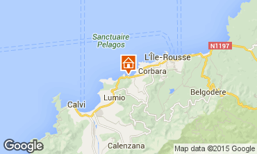 Map Calvi House 99555