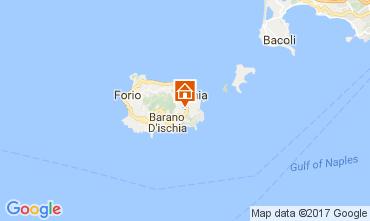 Map Barano d'Ischia Apartment 108946