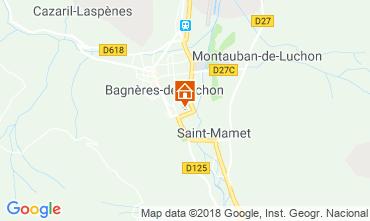Map Bagnères-de-Luchon Villa 117160