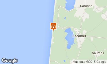 Map Lacanau House 92538